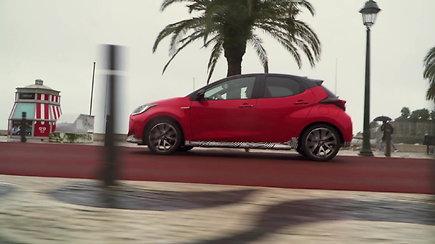 """Išskirtinė premjera: ketvirtos kartos """"Toyota Yaris"""", koncepcinis modelis"""
