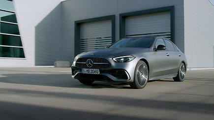 """Mercedes-Benz"" pristatė naująją C klasę (sedanas)"