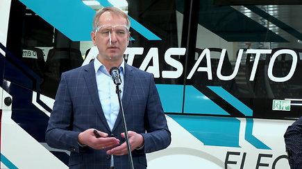 Elektrinio autobuso  ALTAS EV pristatymas