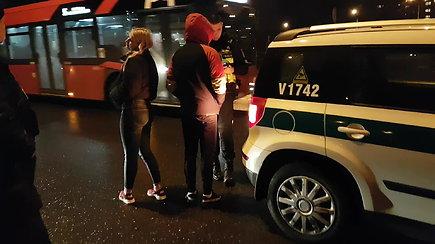 Į avariją patekusiems jaunuoliams teko pasitikrinti blaivumą