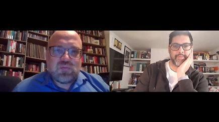 Pokalbis su detektyvinių romanų autoriumi A.Mukherjee: nuo apmąstymų apie Indiją iki prisiminimų apie V.Landsbergį