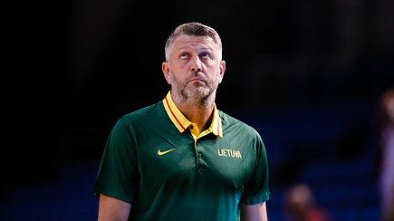 Po pergalės prieš latvius Darius Maskoliūnas aptarė krepšinio reikalus ir atskleidė atostogų planus