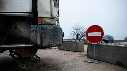Kaune policija sulaikė kelio užtvarus išardžiusį vairuotoją