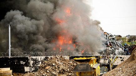Kaune kilo milžiniškas gaisras
