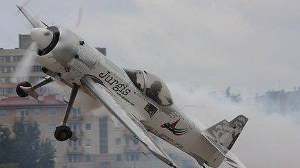 """""""Kylam"""": aviamodeliuotojai žiemą išnaudojo prasmingai"""