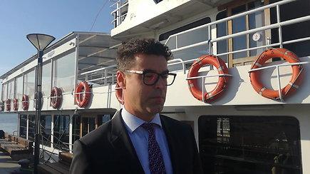 """""""Klaipėdos naftos"""" vadovas Mindaugas Jusius komentuoja SGD terminalo išpirkimą"""
