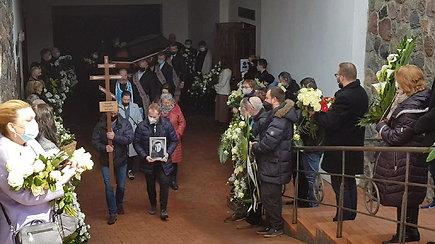 Eugenijus Ostapenko išlydėtas į amžino poilsio vietą