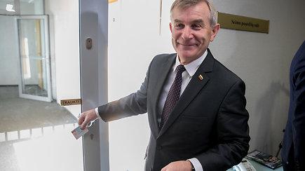 Postą išsaugojęs V.Pranckietis: pasirašiau ant išankstinių Seimo rinkimų projekto