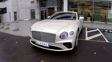 """Galingas ir prabangus """"Bentley Continental GT"""""""