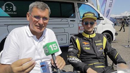 """""""Dynami:t Energy"""" lenktynininkas Mantas Matukaitis: komentarai po """"Corvette"""" avarijos ir nauja strategija"""