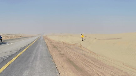 Tuščiasis ketvirtis – viena didžiausių pasaulyje smėlio dykumų, kurioje vyksta Dakaro lenktynės