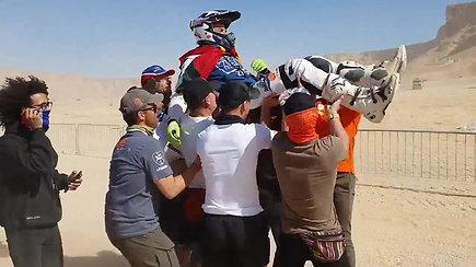 Arūnas Gelažninkas sėkmingai pasiekė 2020-ųjų Dakaro finišą