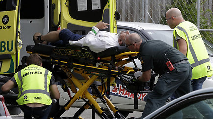 Naujoji Zelandija sukrėsta: mečetėje per šaudynes žuvo 49 žmonės