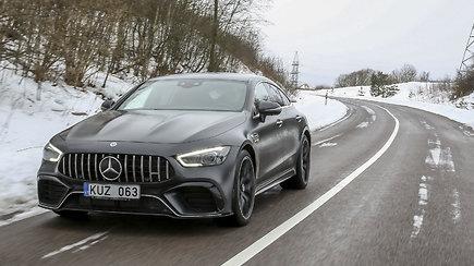 """15min išbandė prabangų, galios nestokojantį """"Mercedes-AMG GT 63"""""""