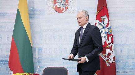 Gitanas Nausėda paskelbė, kada planuoja keltis į rezidenciją Turniškėse