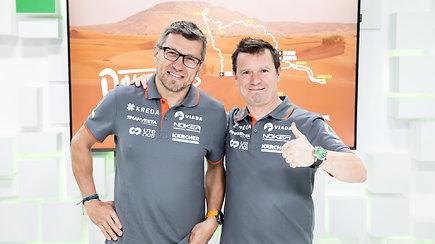 15min studijoje –20-as Dakare finišą kirtęs Antanas Juknevičius