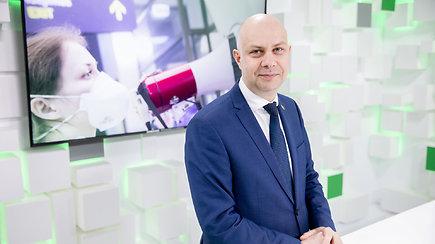 15min studijoje: ministras A.Veryga komentuoja situaciją dėl koronaviruso Lietuvoje