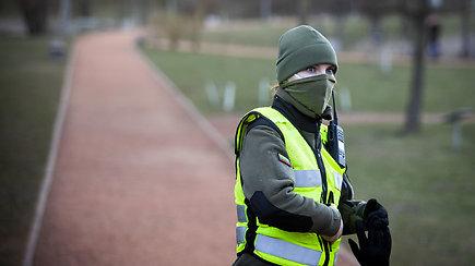 Šaulė Goda Krukauskienė apie patruliavimą Vilniuje