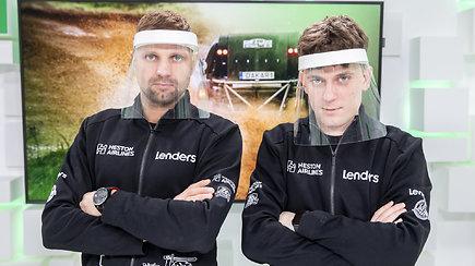 """15min su Dakaru: """"vanagiukai"""" E.Juškauskas su A.Paliukėnu buvo greiti, bet ar to pakanka geram rezultatui?"""