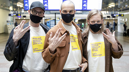 """""""The Roop"""" – jau išlydėti į Roterdamą: gerbėjams turi vieną prašymą"""