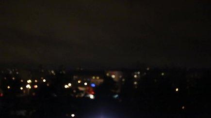 Bėglio su automatu paieškoms pasitelktas VSAT sraigtasparnis