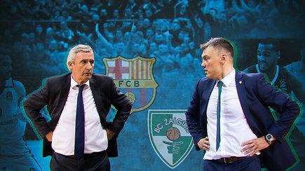 """""""Eurolygos diena"""": kokią įtaką turės """"Barcelona"""" trenerio įžeidimas Šarui? (2/4)"""