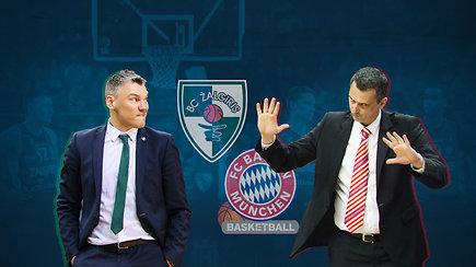"""""""Eurolygos dienos"""" prognozė: nutrūks pralaimėjimų """"Bayern"""" serija (3/3)"""