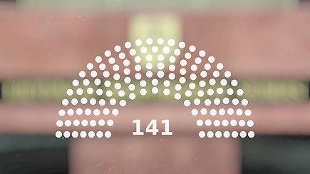 Suprasti akimirksniu: kodėl renkame 141 Seimo narį?