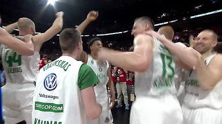 """Pamatykite: dramatiška ir įspūdinga """"Žalgirio"""" pergalė prieš CSKA"""