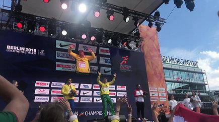 Ant Andriaus Gudžiaus krūtinės suspindo Europos čempionato auksas