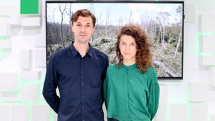"""15min studijoje – prestižiniame Lokarno kino festivalyje apdovanoto filmo """"Rūgštus miškas"""" kūrėjai"""