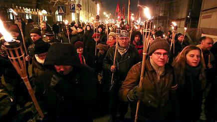Vilniuje įvyko kasmetinės tautininkų eitynės