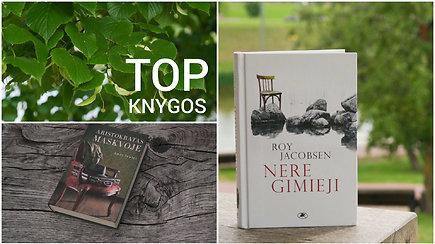 Šios vasaros knygų TOP10
