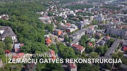 Kauno centro nepuošiančioje Žemaičių gatvėje laukia trys esminiai pokyčiai
