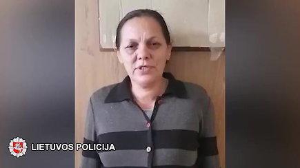 Sostinės pareigūnai sulaikė vagiliaujančią būrėją