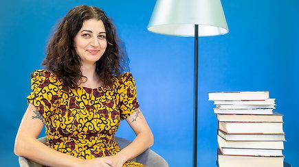 Miglė Anušauskaitė ir jos mėgstamos knygos: apie Tadą Ivanauską, kriminalinius romanus ir komiksus