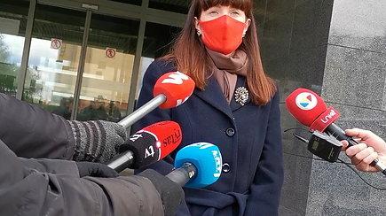 Prokurorės komentaras apie prašymus suimti įtariamuosius