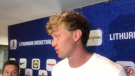 M.Kuzminskas prabilo apie naująją komandą
