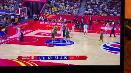 Skandalingas momentas: ar teisėjų klaida atėmė taškus iš Lietuvos rinktinės?