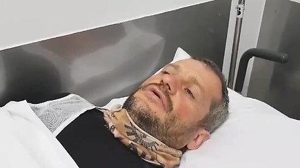Operacijos ligoninėje laukiantis B.Bardauskas papasakojo apie avarijos aplinkybes ir sužalojimus