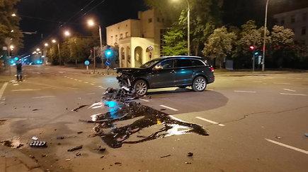Penktadienio vakarą – avarija Vytenio ir Kauno gatvių sankryžoje