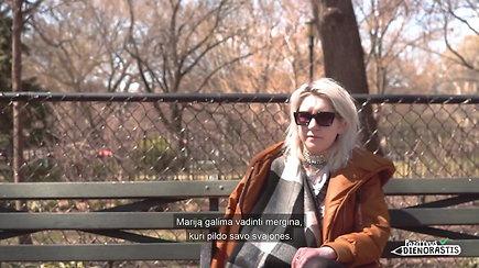 Niujorke gyvenanti Marija ketina skleisti lietuviško kino idėjas pasaulyje