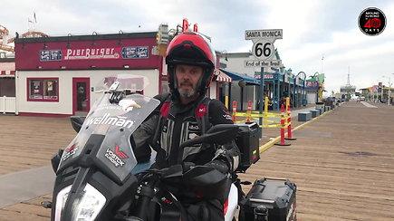 """Karolis Mieliauskas per Ameriką keliauja legendiniu """"Route 66"""""""