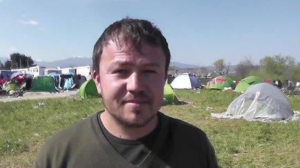 Pabėgėlis Basiras iš Afganistano prabilo lietuvių kalba