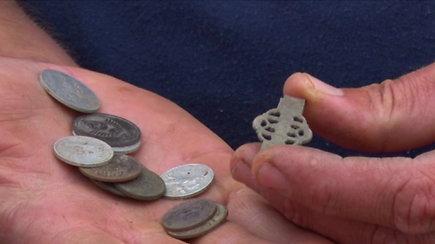 Zapyškio bažnyčios teritorijoje rasti radiniai nustebino archeologus