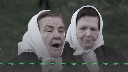 Dzūkiška daina, atliekama Musteikos kaimo gyventojų Zitos ir Agotos