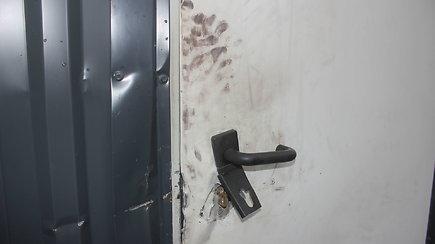 Panevėžyje vagys apšvarino garažą ir paliko tik plikas sienas