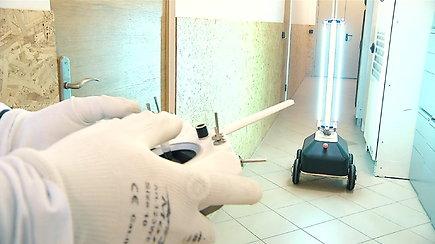 Susipažinkite: Lietuvoje sukurtas dezinfekcinis robotas, kuris padės kovoje su Covid-19 virusu
