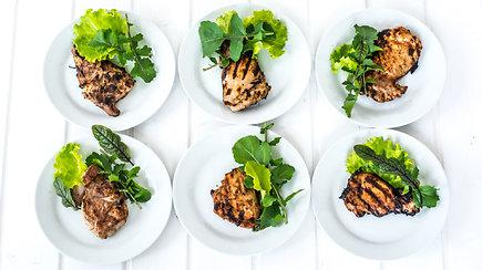 Grilio eksperimentai: 6 marinatai vištienai