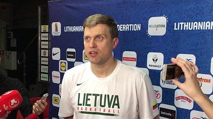 D.Adomaičio mintys po Lietuvos rinktinės treniruotės